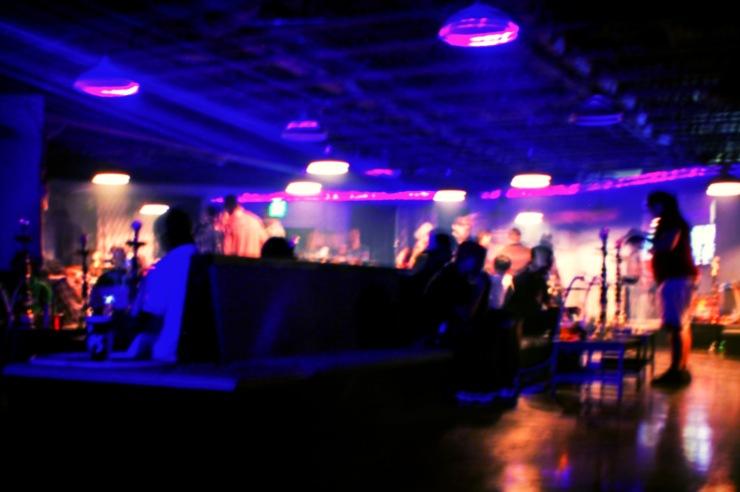 Friday Night Kegger Rave at hookah lounge, Forte. Photo by Lauren Keim.