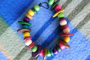 Photo and bracelet by Lauren Keim.