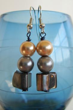 Photo and earrings by Lauren Keim.