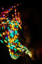 LED finger gloves. Photo by Lauren Keim
