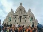 Sacred Heart Basillica. Paris, France. Photo by Lauren Keim.