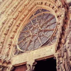 Notre-Dame Cathedral of Reims. Reims, Belgium. Photo by Lauren Keim.