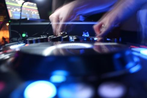 DJ TriNiTro. Photo by Lauren Keim