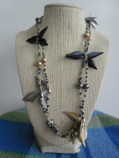 Photo and necklace by Lauren Keim.