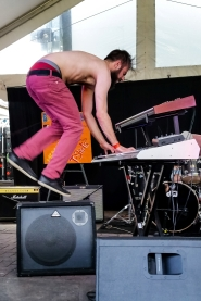 Baby Baby performing at Austin Jump Off, Mar. 18, 2015