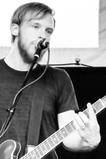 Kevin Devine at the Austin Jump Off, Mar. 18, 2015.